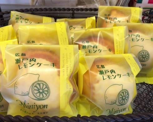 ミニヨンのレモンケーキ