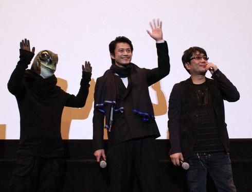 小栗旬、広島で映画「ミュージアム」舞台挨拶
