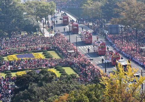 広島カープのキャンプ地、日南市と沖縄市でも優勝パレード開催へ
