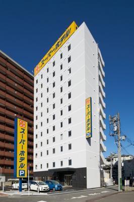 スーパーホテル三原駅前店 外観