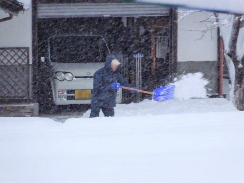 2017年1月15日 広島県庄原市の雪の様子3