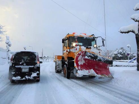 広島でも積雪50cm、2017冬将軍が猛威ふるい大雪警報も