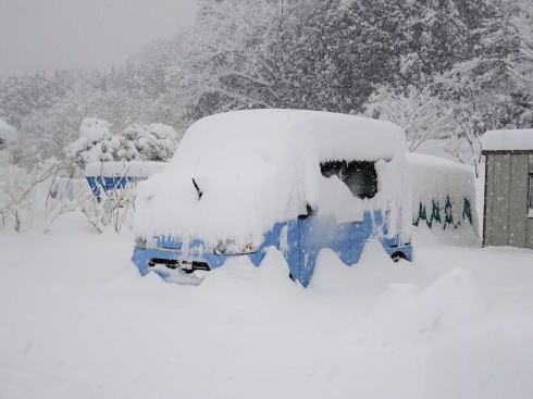 2017年1月15日 広島県庄原市の雪の様子2