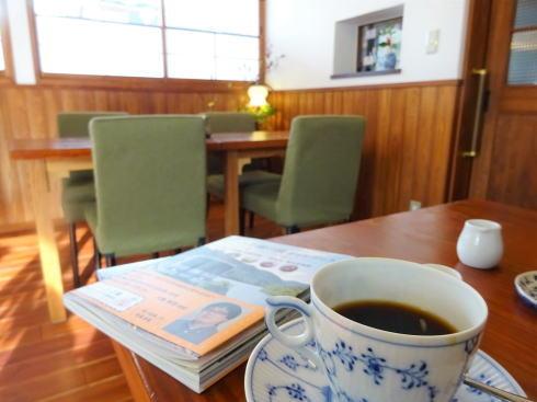 庄原の旅館カフェ・珈琲屋 洗心館、安原旅館にコーヒーの小さな憩い空間