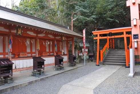 草戸稲荷神社 本殿への階段