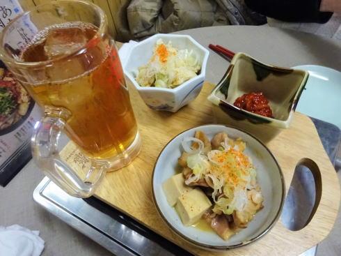 尾道市 米徳 煮込みなどの居酒屋メニュー