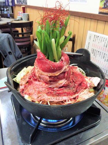 尾道市 米徳 肉鍋の写真