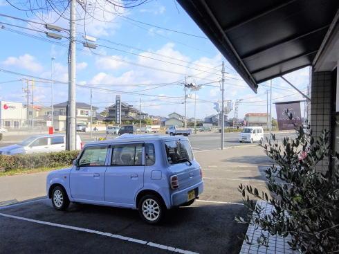 福山市 BAUM(バウム) 駐車場