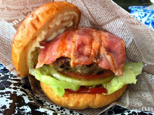 イモバタケ、福山で立ち寄りたいハンバーガーがジューシーなお店