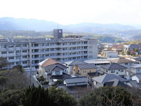 明王台展望台(配水池)から見た福山の風景3