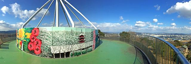 明王台展望台、福山市内が一望できる展望・夜景スポット