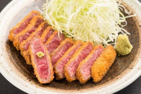 京都勝牛 牛カツ