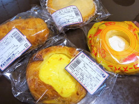 岡野製パン(オカノパン)菓子パンシリーズ