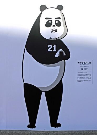 カープウォール2017 中崎投手