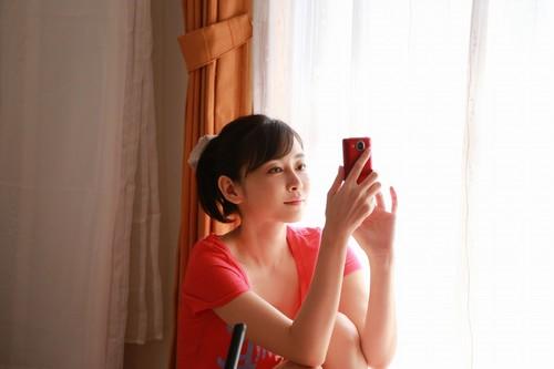 広島県福山市に凱旋、杉原杏璃が主演映画の舞台挨拶で