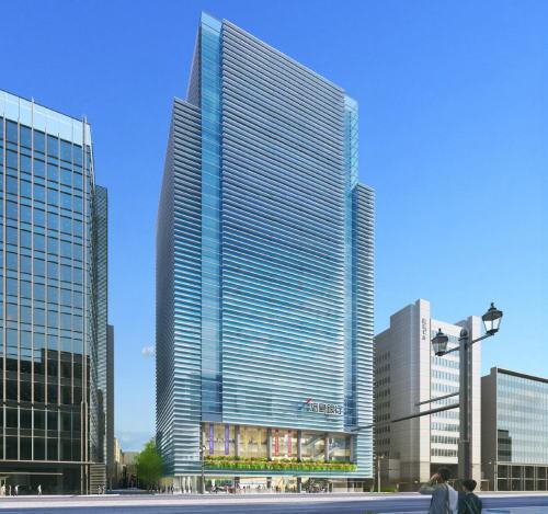 広島銀行本店が老朽化で建替え、2021年完成予定で新ビルは3倍の高さに