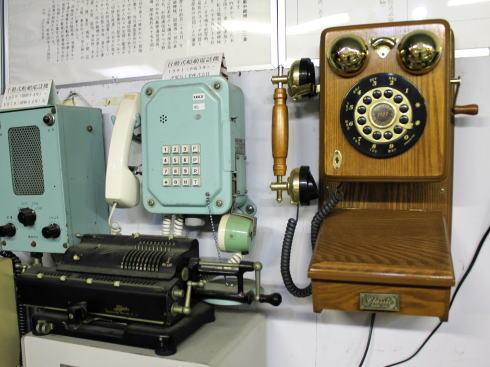 みろくの里「いつか来た道」電話博物館
