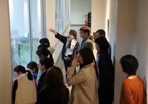 アヲハタ 工場見学の様子2