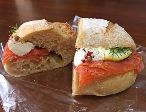 西条 ブーランジュリ シェ ジョルジュのサンドイッチ