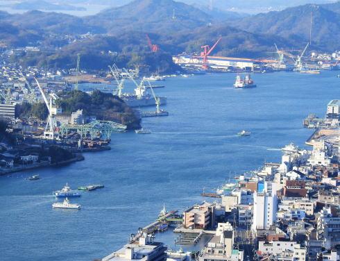 浄土寺山展望台からの風景