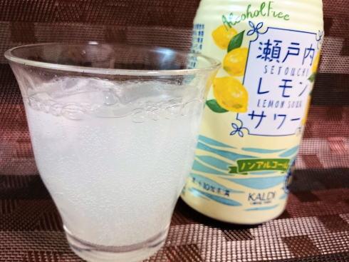 カルディコーヒー瀬戸内レモンサワー(ノンアルコール)