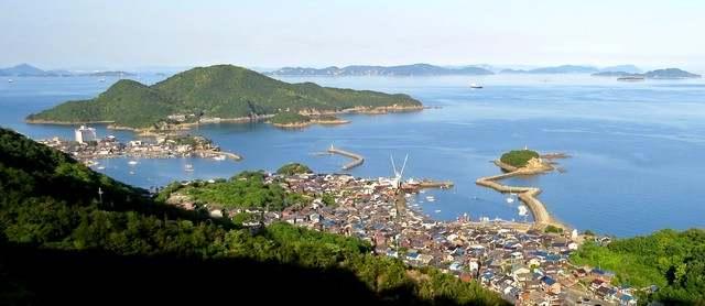 福山グリーンラインからの眺め