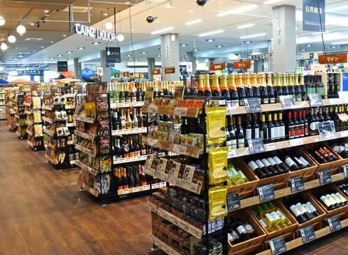 カインズ広島LECT店、アルコールや医薬品も
