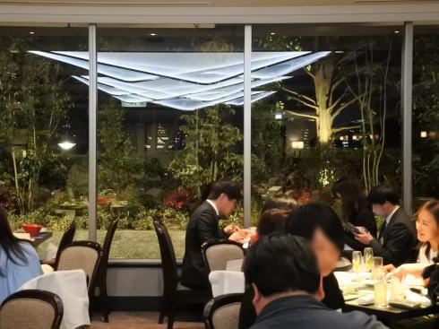 リーガロイヤルホテル広島 チャイニーズダイニング リュウ 店内照明