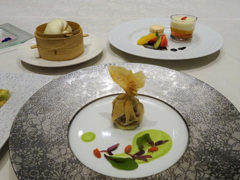 リーガロイヤルホテル広島 チャイニーズダイニング リュウ コース料理