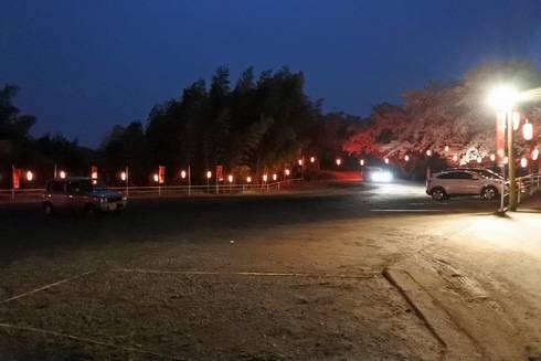 正福寺山公園の駐車場