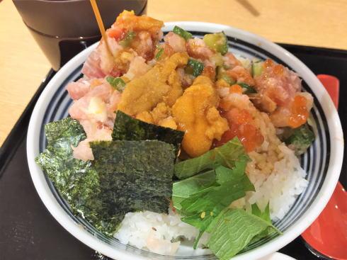 日本橋海鮮丼 つじ半 ぜいたく丼特上2