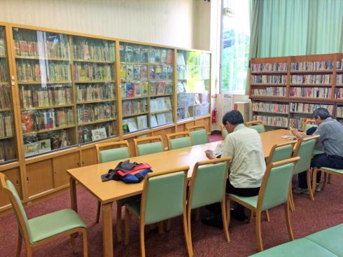 広島市まんが図書館 館内の様子11