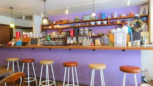 広島 ミカグランドカフェ、豆乳クリームで頂くシフォンケーキが美味しいお店