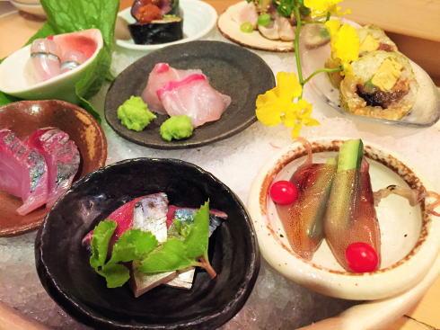 にかいのおねぎや笹木、彩られた旬の料理に舌鼓!広島の人気和食店