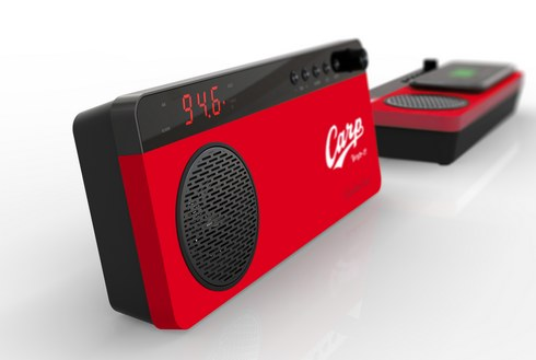 RCCのカープラジオ、ワイドFMに対応