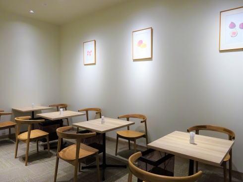 カフェコムサ 福屋広島駅前店 店内の様子2