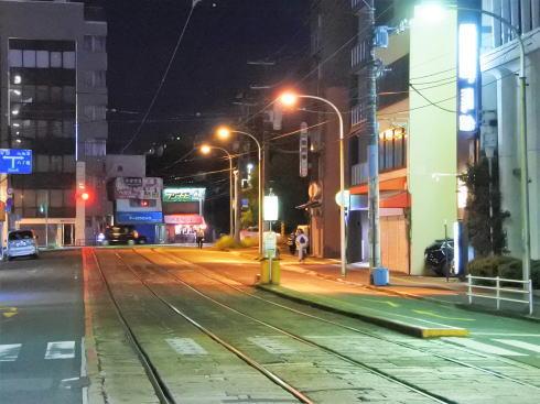 広島駅前 猿猴橋町電停の風景3