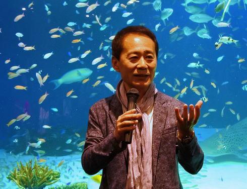 マリホ水族館 プロデュースを務めた中村元氏