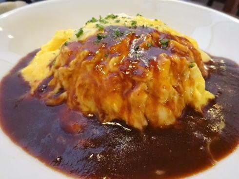 北広島町大朝 つるや食堂(TSURUYA)オムライス2
