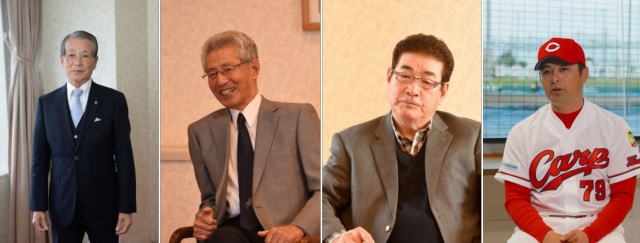 私が愛した広島カープ でインタビューを受けた4人の歴代優勝監督