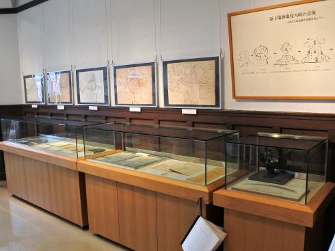広島市 江波山気象館 被爆関連展示