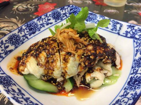 中国料理 恵莉華 よだれ鶏