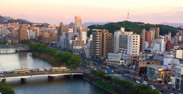 ホテル川島からの眺め