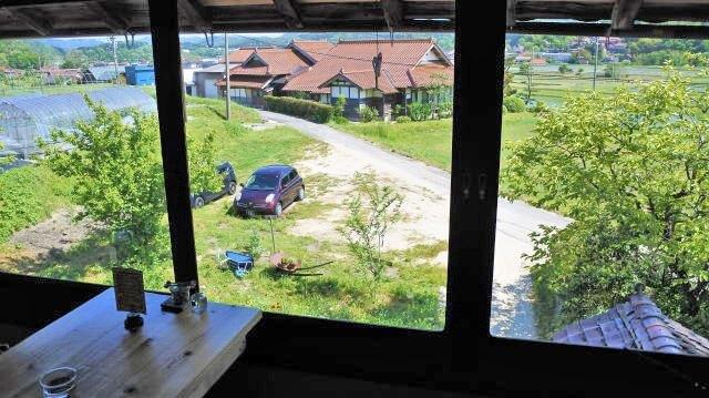 北広島カフェ オトナイ 部屋からの風景