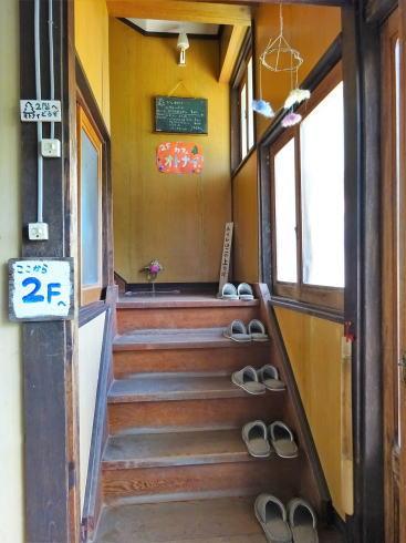 北広島カフェ オトナイ 店舗は2階