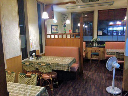 インド料理店 TAJ(タージ)三次店 店内の様子