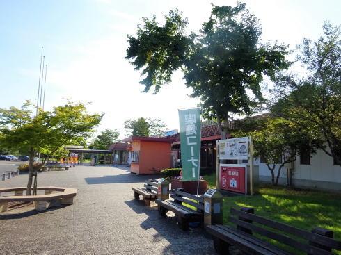 七塚原サービスエリア 上り線の外の様子