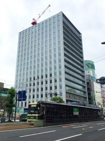 工事中のスタートラム広島