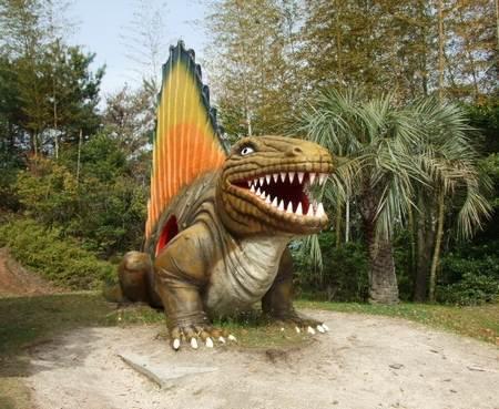 蜂ヶ峰公園 恐竜の森2