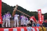 世界最大の餅つき「おいでん祭」庄原市総領町にて